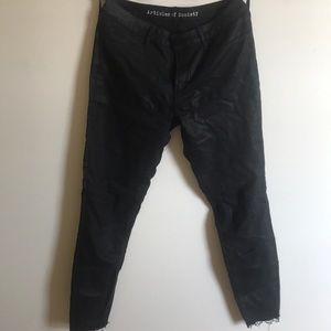 Articles of Society Faux Leather Jegging Jean